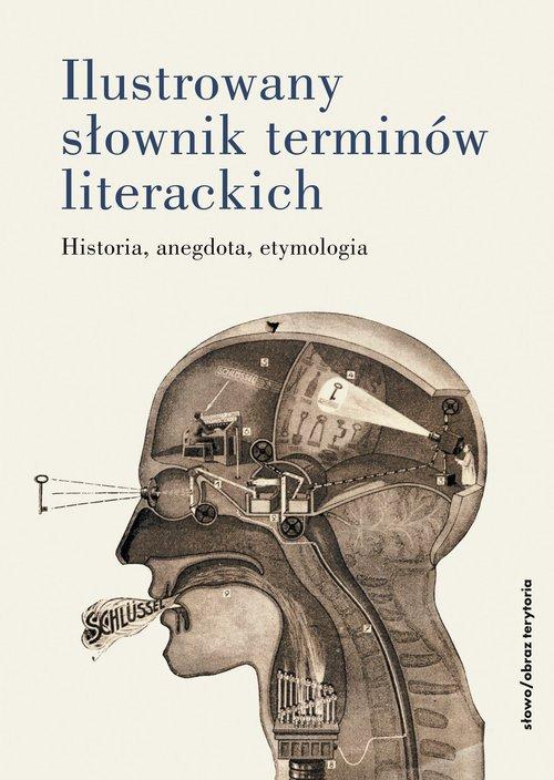 Ilustrowany słownik terminów literackich - okładka książki