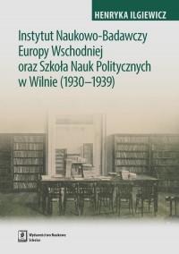 Instytut Naukowo-Badawczy Europy - okładka książki