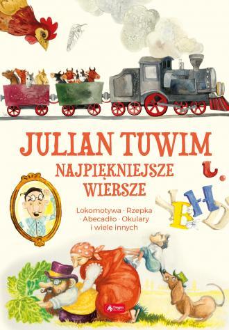 Julian Tuwim. Wiersze - okładka książki