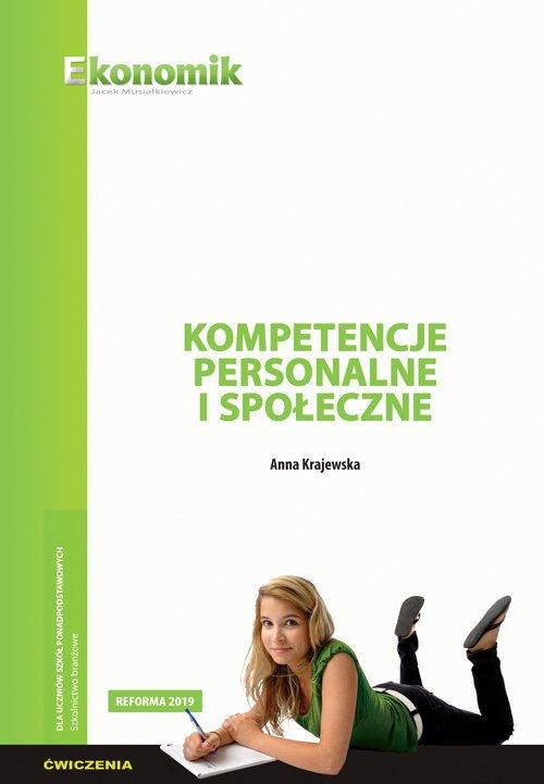 Kompetencje personalne i społeczne - okładka podręcznika