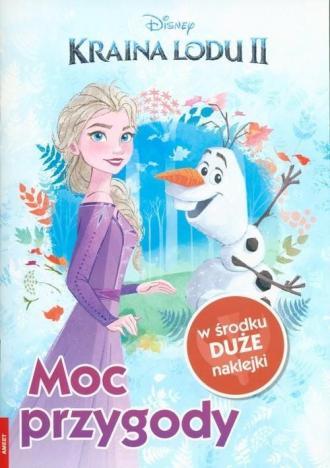Kraina lodu 2. Moc przygody - okładka książki