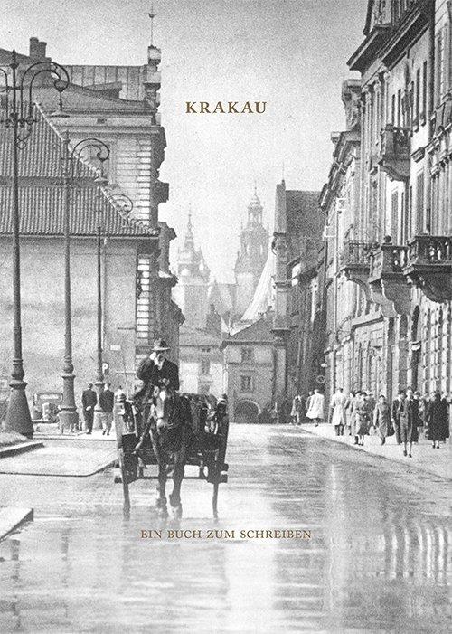 Krakau. Ein Buch zum Schreiben - okładka książki