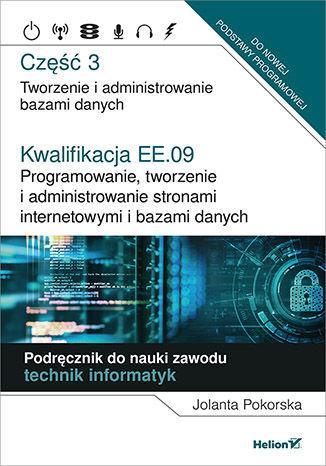 Kwalifikacja EE.09. Podręcznik - okładka podręcznika