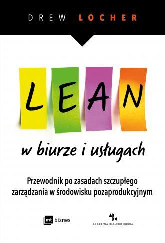 Lean w biurze i usługach. Przewodnik - okładka książki