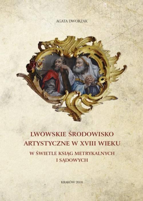 Lwowskie środowisko artystyczne - okładka książki
