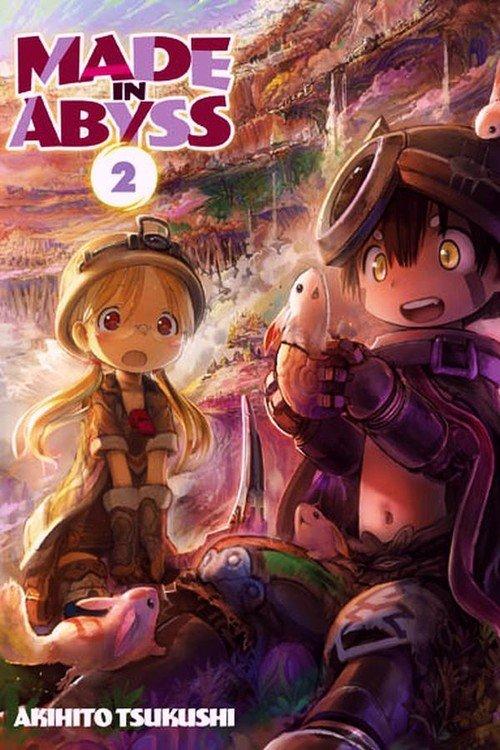 Made in Abyss #02 - okładka książki