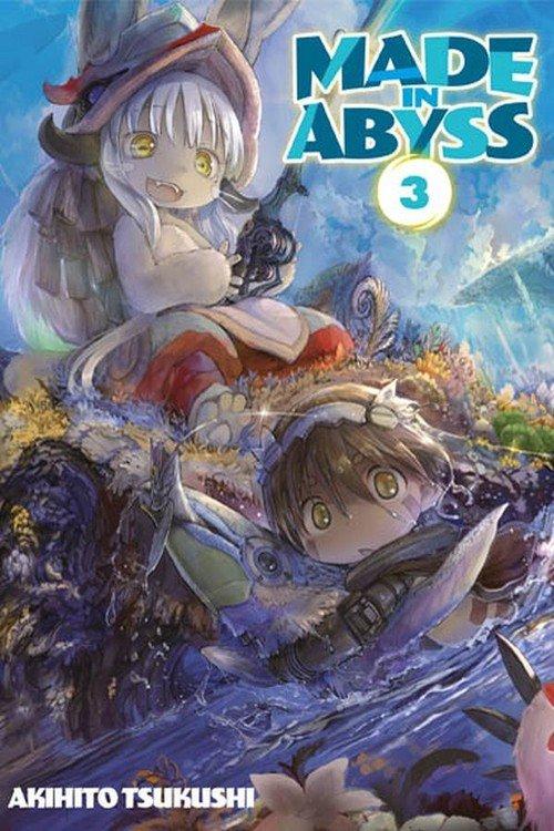 Made in Abyss #03 - okładka książki