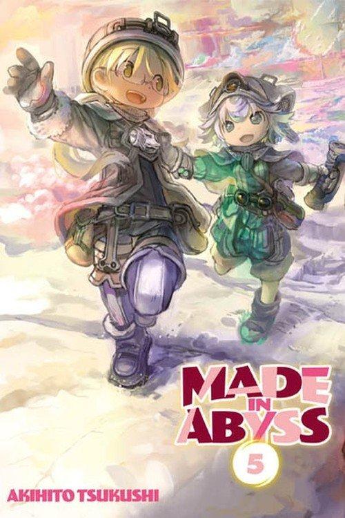 Made in Abyss #05 - okładka książki