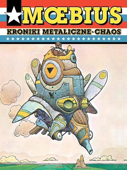 Moebius. Kroniki metaliczne. Chaos - okładka książki