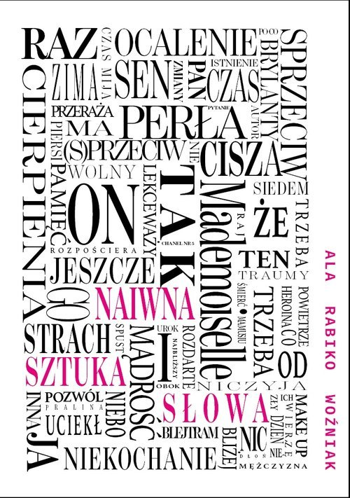 Naiwna sztuka słowa - okładka książki