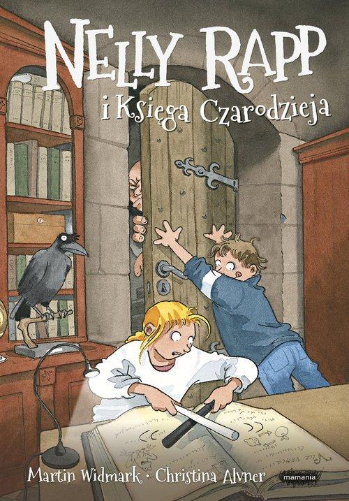 Nelly Rapp i Księga Czarodzieja - okładka książki