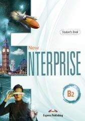 New Enterprise B2 SB + DigiBook - okładka podręcznika