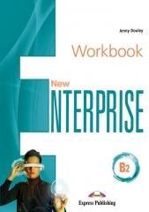 New Enterprise B2 WB + DigiBook - okładka podręcznika