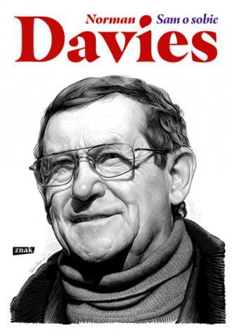 Norman Davies. Sam o sobie - okładka książki