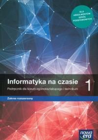Nowe informatyka na czasie era. - okładka podręcznika