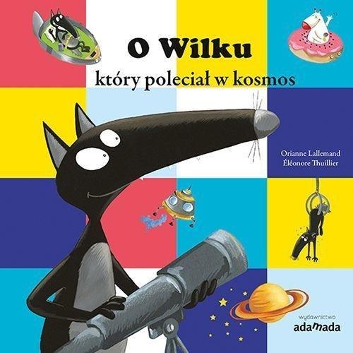 O Wilku, który poleciał w kosmos - okładka książki