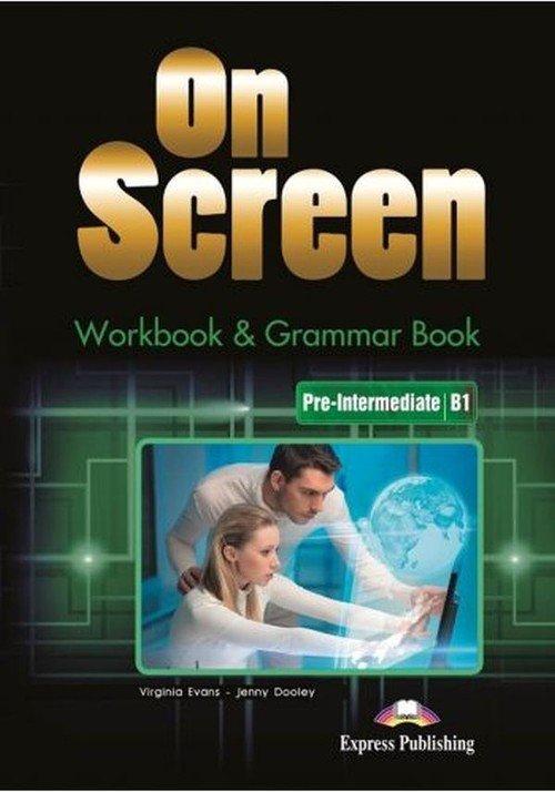 On Screen Pre-Intermediate B1 WB - okładka podręcznika