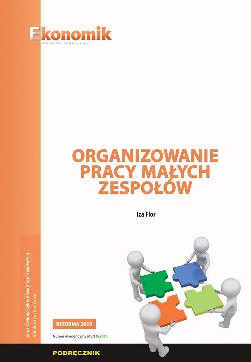 Organizowanie pracy małych zespołów - okładka książki