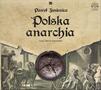 Polska anarchia (CD mp3) - pudełko audiobooku