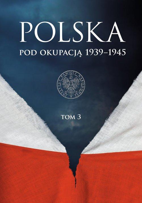 Polska pod okupacją 1939–1945. - okładka książki