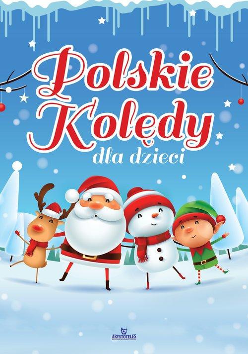 Polskie kolędy dla dzieci - okładka książki