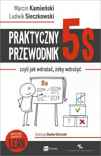 Praktyczny przewodnik 5s, czyli - okładka książki