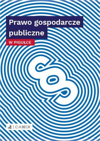 Prawo gospodarcze publiczne w pigułce - okładka książki
