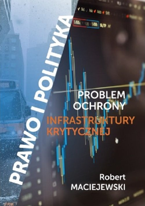 Problem ochrony infrastruktury - okładka książki