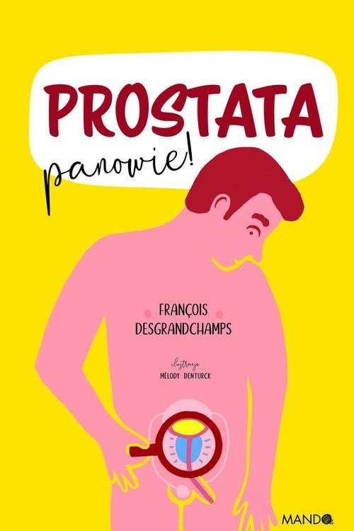Prostata, panowie! - okładka książki