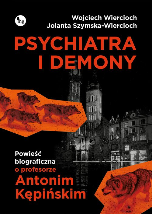 Psychiatra i demony. Powieść biograficzna - okładka książki
