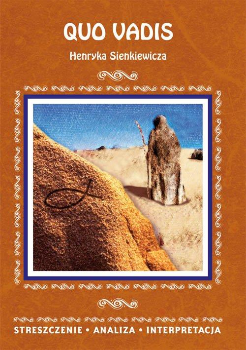 Quo vadis Henryka Sienkiewicza. - okładka podręcznika