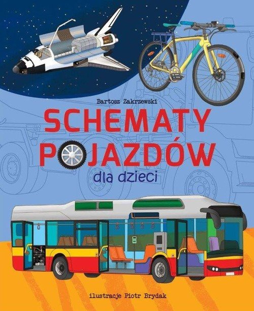 Schematy pojazdów - okładka książki