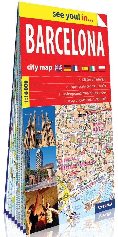 See you! in... Barcelona - plan - okładka książki