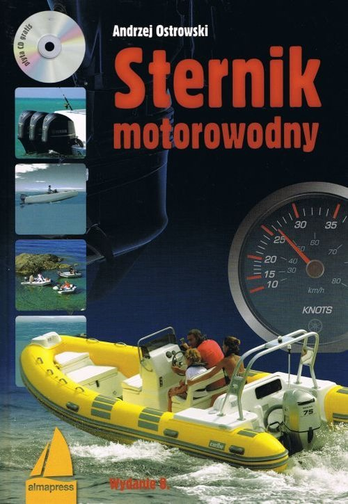 Sternik motorowodny (+ CD) - okładka książki