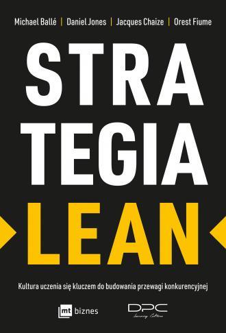Strategia Lean. Kultura uczenia - okładka książki
