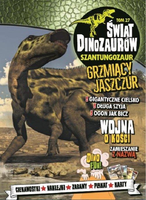 Świat Dinozaurów 27. Szantungozaur - okładka książki