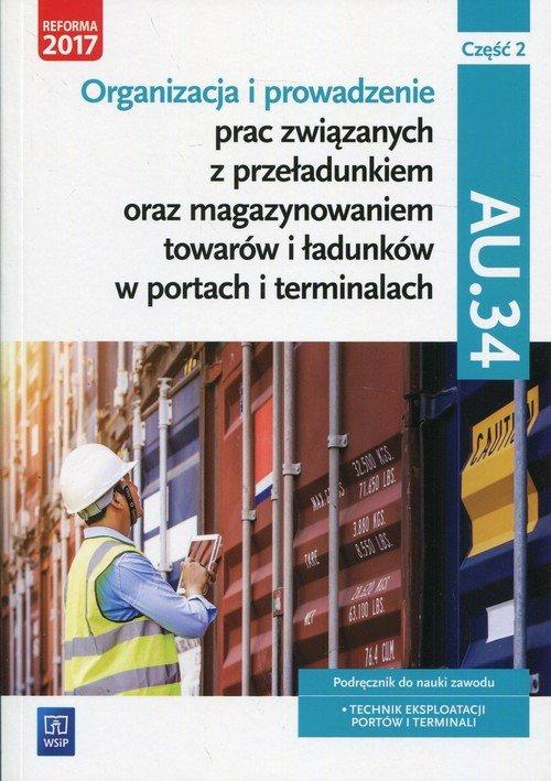 Technik eksploatacji portów i terminali. - okładka podręcznika