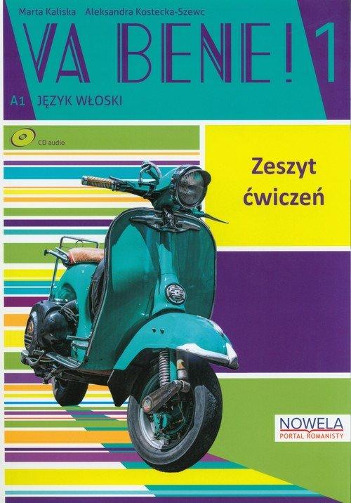 Va Bene! 1. Zeszyt ćwiczeń (+ CD) - okładka podręcznika