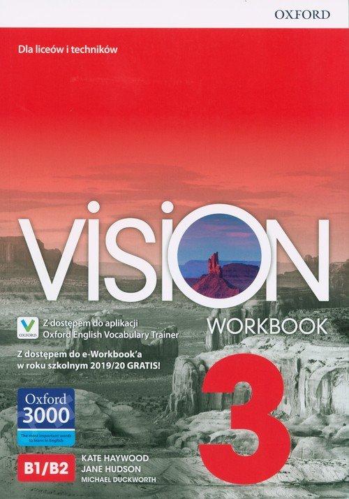 Vision 3 Workbook + e-Workbook - okładka podręcznika