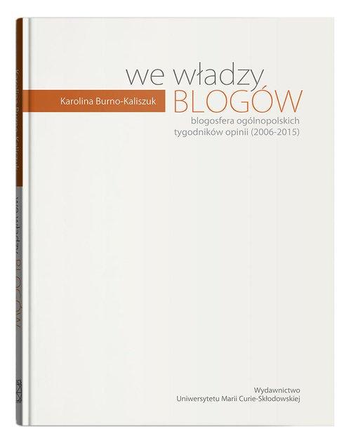 We władzy blogów - okładka książki