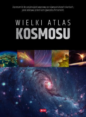 Wielki atlas kosmosu - okładka książki