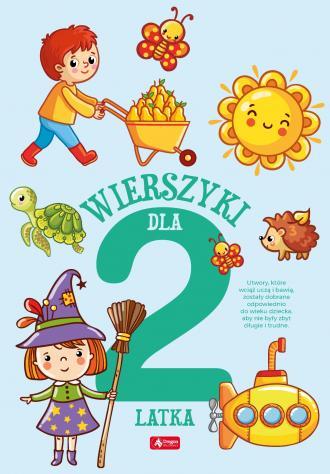 Wierszyki dla dwulatka - okładka książki