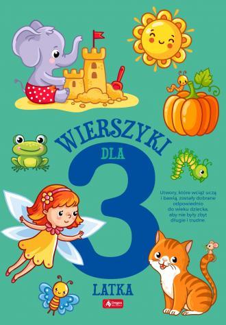 Wierszyki dla trzylatka - okładka książki