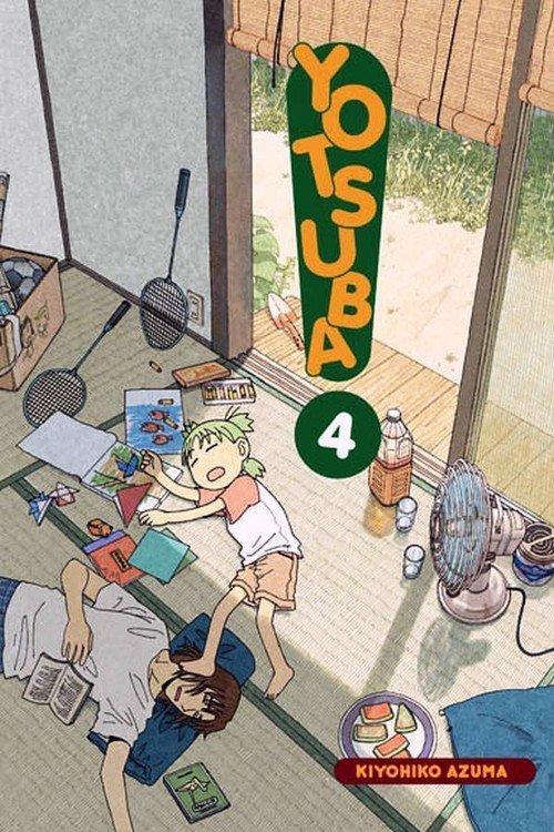 Yotsuba! #04 - okładka książki