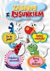 Zabawy z rysunkiem - okładka książki