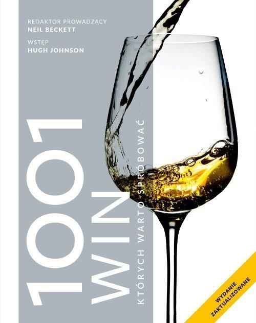 1001 win, których warto spróbować - okładka książki