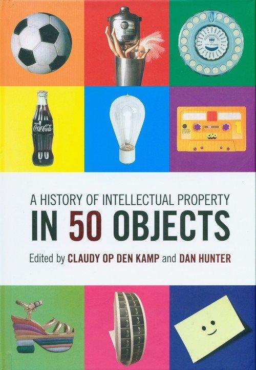 A History of Intellectual Property - okładka podręcznika
