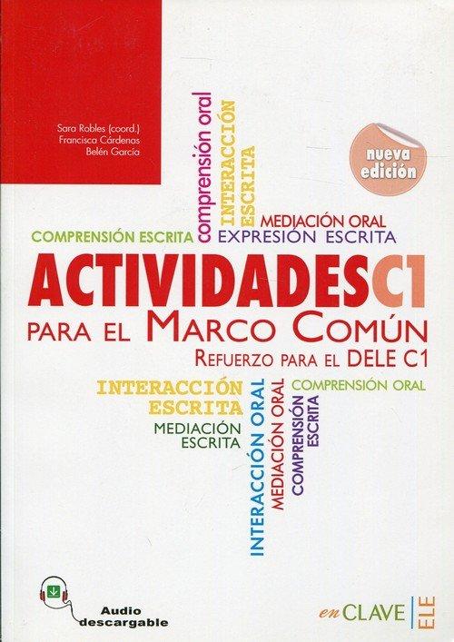 Actividades C1 Para El Marco Comun - okładka podręcznika