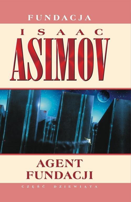 Agent Fundacji - okładka książki