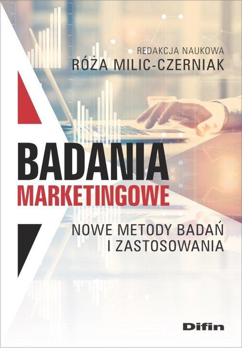Badania marketingowe. Nowe metody - okładka książki